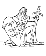 medieval knights armor coloring sheets bluebonkers