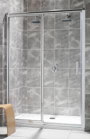 Sliding Shower Door 1200 Twyford Hydr8 Sliding Shower Door 1200mm