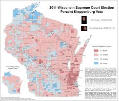 Map Of Central Wisconsin wisconsin election maps and results university of wisconsin eau