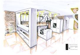 kitchen design training internal architectural sketch for house architecture artnmeal