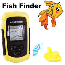 35 meters in feet 35 meters portable wireless sonar fish finder with lcd display wp ff02