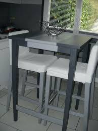 fabriquer une table haute de cuisine exquis chaise tabouret dimensions trendy table haute avec tabouret