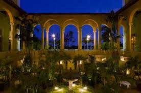dinner in fontana biltmore hotel miami coral gables coral