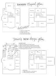 houses and their floor plans fixer upper house kitchens and spaces