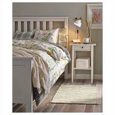Ikea White Bed Hemnes Bed Frame Gray Brown Box Spring S Gray Ikea Hemnes Twin Bed