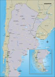 Patagonia South America Map by Discover Argentina Moon Travel Guides