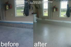 Paint Garage Floor Chattanooga Garage Flooring Choices And Options