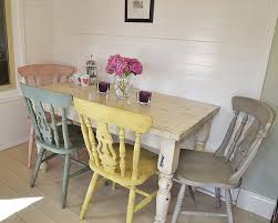dining room classy grey shabby chic dining table shabby chic