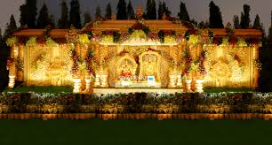 wedding stage flower decorators in hyderababd shobha u0027s