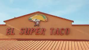 el super taco menu