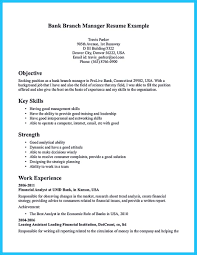 Resume Titles Examples by One Of Recommended Banking Resume Examples To Learn