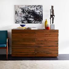 furniture bedroom dressers stria 6 drawer dresser honey west elm