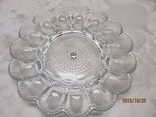 glass deviled egg plate deviled egg plate ebay
