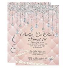 diamonds and pearls invitations u0026 announcements zazzle