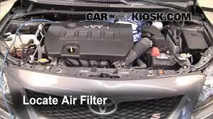 How To Reset Maintenance Light On 2010 Toyota Corolla Air Filter How To 2009 2013 Toyota Corolla 2010 Toyota Corolla