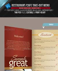photoshop menu template 14 creative 3 fold photoshop indesign brochure templates web