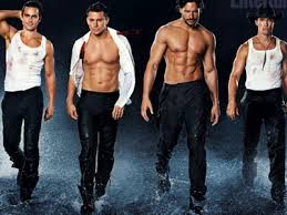 channing tatum stripping magic mike watch channing tatum and magic mike cast strip to its raining men