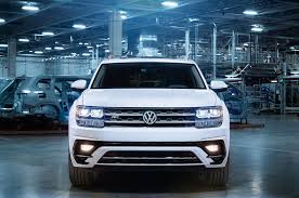 black volkswagen atlas 2018 volkswagen atlas to receive r line trim
