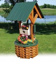 wishing well planter plans outdoor plans and projects