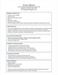examples of resumes 89 astounding simple sample resume format