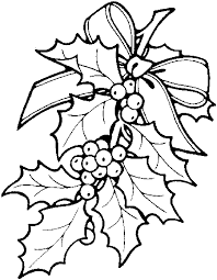 christmas holly coloring pages holly berry xmas learn