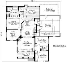 Home Design 2000 Square Feet 53 Best House Plans Images On Pinterest House Floor Plans House
