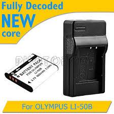 olympus vr 340 battery 950mah battery charger for olympus li 50b vg 170 vr 340 tg 610 810