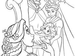 printable free disney princess rapunzel coloring sheets kids