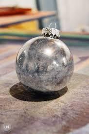 diy winter mercury glass ornaments east coast creative