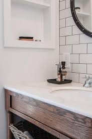 Bathroom Vanity Backsplash Ideas Subway Tile Backsplashes Fair Bathroom Subway Tile Backsplash