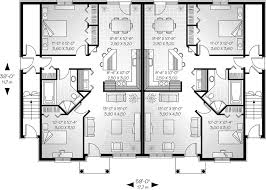 multi family house plans marland multi family fourplex plan 032d 0380 house plans and more