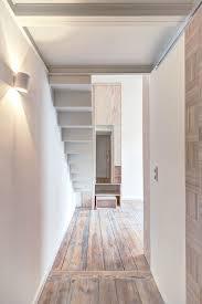 21 sqm micro apartment interior design idea with mezzanine bedroom