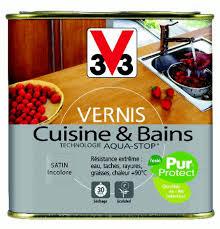 v33 cuisine et bain vernis écologique v33 cuisne et bains entretien et traitement bois