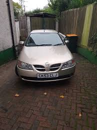 gold nissan car gold nissan almera flare in newport gumtree