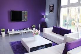 Purple Home Decorations by Stunning Gray And Purple Living Room Photos Home Design Ideas