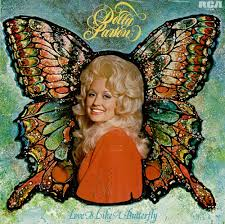 butterfly photo album dolly parton is like a butterfly uk vinyl lp album lp record