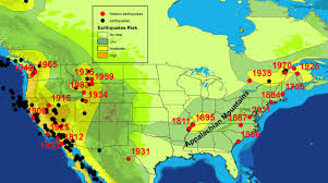 earthquake hazard map week 12 earthquake hazard map of the unite states