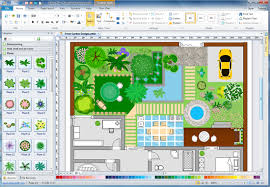 Backyard Planning Software by How To Draw A Landscape Plan