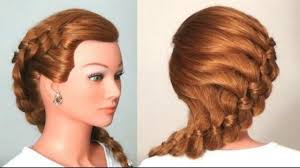 stylish braid hairstyle tutorial video dailymotion