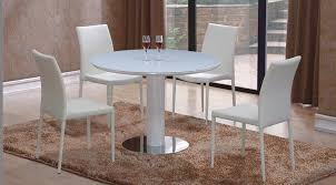 high table with four chairs elise round high gloss dining table four chairs gloss furniture
