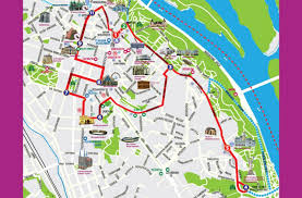 Kiev Map Hop On Hop Off Bus Tour Kiev City Sightseeing