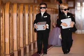 ring security wedding flower ring bearers photos secret security ring bearer