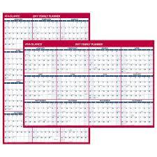 Wall Calendar Organizer Amazon Com At A Glance Wall Calendar 2017 Erasable Reversible