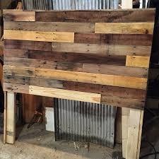 pallet wood headboard diy u2014 revival woodworks