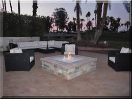 California Fire Pit by Custom Fire Pit Conversion To Fireglass Exsisting Fire Pit