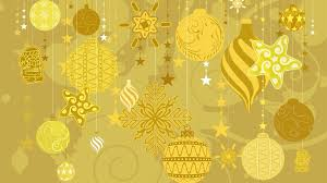 gold ornament wrapping paper design celebrate