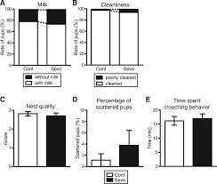 neonatal exposure to sevoflurane in mice causes deficits in