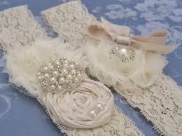 garters for wedding vintage bridal garter wedding garter set toss garter included