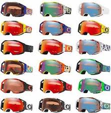 motocross goggles ebay 2018 oakley airbrake motocross mx goggles enduro bike prizm lens ebay