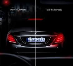 led intelligent light system the led intelligent light system in the new s class